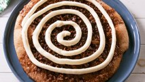 Help! We Can't Stop Eating This Insane Cinnamon Roll Pizza