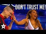 Magician Has A Dangerous Task For Mel B on America's Got Talent - Got Talent Global
