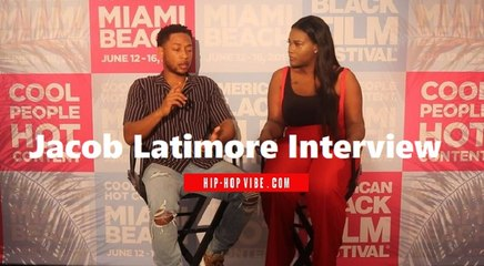 """HHV Exclusive: Jacob Latimore talks """"The CHI,"""" juggling acting and music, Kenny Latimore and his family's music background, and more"""