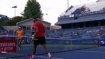 Tsonga overcomes Schnur 6-4, 7-6 in Washington Open first round