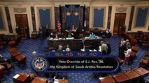 Senado de EEUU no logra bloquear la venta de armas a Arabia Saudita