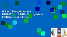R.E.A.D First Aid for the USMLE Step 1 2019, Twenty-Ninth Edition D.O.W.N.L.O.A.D
