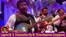 Legend M. S. Viswanathan By M. Thiravidaselvan (singapore) Vol 71  KRISHNAMURTHY