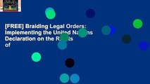 [FREE] Braiding Legal Orders: Implementing the United Nations Declaration on the Rights of