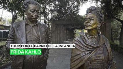 Tour por el barrio de la infancia: Frida Kahlo