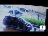 Video del momento exacto de la balacera en la Plaza Artz Pedregal | Noticias con Yuriria Sierra