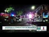 Disparan contra un chofer de transporte público en Tlalnepantla   Noticias con Francisco Zea