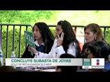 Recaudan 10.3 mdp de subasta de joyas en Los Pinos   Noticias con Francisco Zea