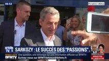 """Le livre """"Passions"""" de Nicolas Sarkozy est un succès en librairie avec plus de 213.000 exemplaires vendus"""