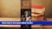 Licensed to Lie  For Kindle