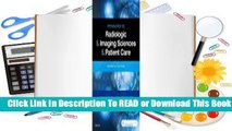 Online Introduction to Radiologic and Imaging Sciences and Patient Care  For Free