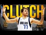 Luka Doncic CLUTCH Moments Of 2018-19 Rookie Season- - FreeDawkins