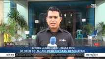 JCH Embarkasi Aceh Jalani Pemeriksaan Kesehatan Terakhir Sebelum Berangkat