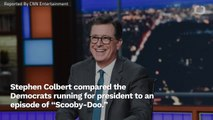 Stephen Colbert Uses 'Scooby-Doo' Reference For Democratic Debate