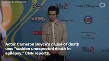 Coroner Says Actor Cameron Boyce's Death Was 'Sudden' And 'Unexpected'