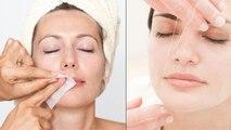 Upper Lips Threading Vs Waxing : अपर लिप्स थ्रेडिंग या वैक्सिंग  क्या है बेहतर | Boldsky