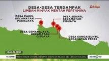 Ini Desa-desa Terdampak Limbah Minyak Mentah Pertamina