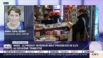 Le point macro: Insee, le Produit Intérieur Brut progresse de 0,2% au deuxième trimestre - 30/07
