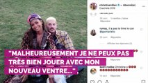 PHOTO. Christina Milian enceinte : la compagne de M. Pokora pl...