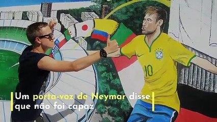 Abdul Hadi Mohamed Fares | Polícia brasileira acaba com violação de Neymar