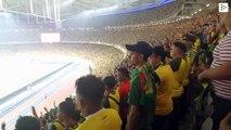 El mayor aplauso vikingo resuena en un estadio malasio con más de 83.500 hinchas de fútbol