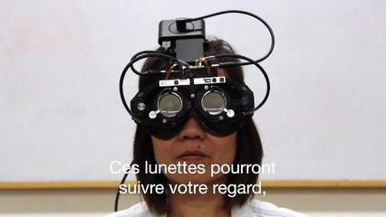 Des lunettes pour presbytes s'adaptent aux mouvements des yeux