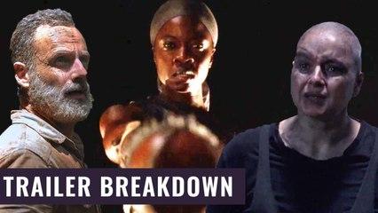 Rick Grimes kommt ins Kino und Alpha zieht in den Krieg | The Walking Dead Season 10 Trailer Analyse