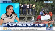Le corps retrouvé est bien celui de Steve Maia Caniço d'après les premiers résultats de l'autopsie