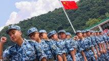 Hong Kong teenagers join China's People's Liberation Army summer camp