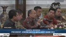 President Jokowi Meets with Softbank CEO