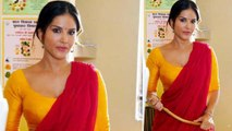 Sunny Leone is all set to surprise her fans with her de-glam look in Koca-Kola | FilmiBeat