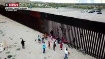 Des balançoires à la frontière américano-mexicaine pour que les enfants jouent ensemble