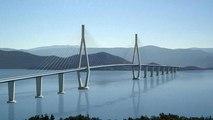 Le pont de la réunification croate