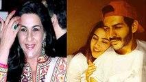Sara Ali Khan's mother Amrita Singh gets agreed for Sara & Kartik Aaryan's relationship | FilmiBeat