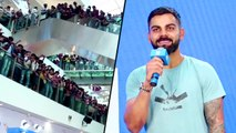 Virat Kohli Meets Crazy Fans At Oberoi Mall In Mumbai