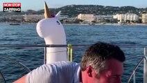 Franck Dubosc : Son Bottle Cap Challenge délirant avec une autre star (vidéo)