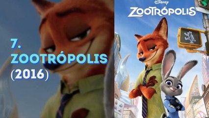 Las 10 películas de animación más taquilleras