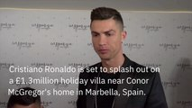 Cristiano Ronaldo Buys Pricey Real Estate Next To UFC Fighter