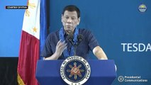 Duterte blames priests for fly interrupting his speech