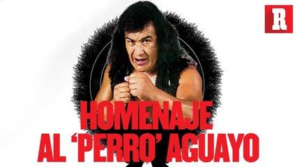 La despedida del 'Perro' Aguayo