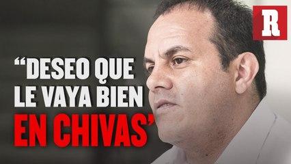 'Oribe no traicionó al América': Cuauhtémoc Blanco