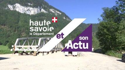 Le Département et son Actu : véloroute Léman Mont Blanc