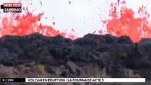 La Réunion : Le Piton de la Fournaise de nouveau en éruption (Vidéo)