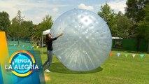 Los juegos con pelotas no son sólo para niños. | Venga La Alegría