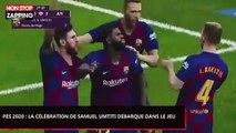 PES 2020 : La célébration de Samuel Umtiti débarque dans le jeu (Vidéo)