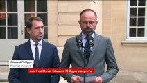 """Le rapport de l'IGPN n'a pas """"établi de lien entre l'intervention de la police et la disparition"""" de Steve Maia Caniço, annonce Edouard Philippe"""