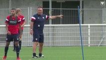 Le point sur l'équipe réserve avec l'entraîneur Fabrice Vandeputte