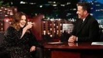Melissa McCarthy Hints that Ursula Rumors Could be True on 'Jimmy Kimmel Live' | THR News