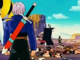 Dragon ball - Trunks se burla de freezer