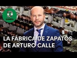 Arturo Calle quiere liderar la fabricación de calzado de cuero
